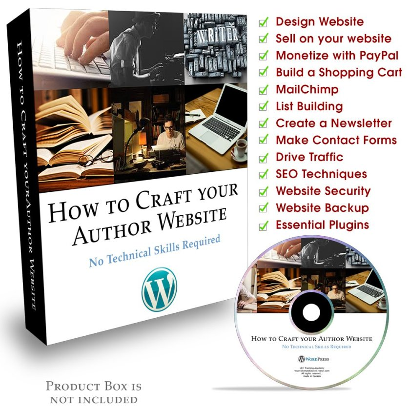 How to Craft Your Author Website
