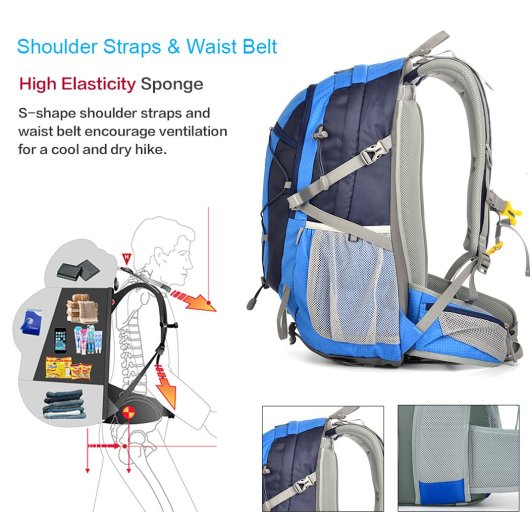 waterproof backpack for travel and leisure