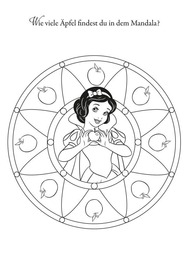 Disney Prinzessin: Mandalas : Panini: Amazon.de: Bücher