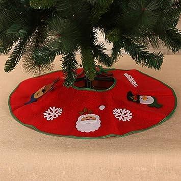Luxury Fur Trim Christmas Tree Skirt Festive Home Xmas Snowflake Decor Uk Christmas Decorations Trees Christmas Decorations Trees Celebrations Occasions