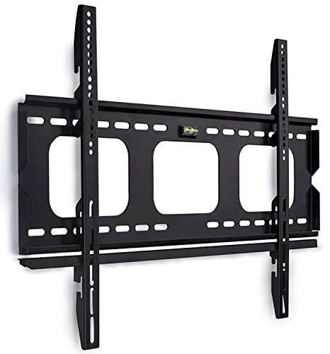 Amazon Com Mount It Low Profile Tv Wall Mount 1 Slim Fixed Bracket For    60 Inch Tvs Vesa Compatible Up To