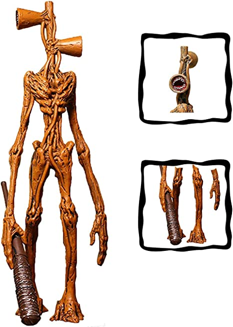 Qdy Scp Siren Head Action Figure Cartoon Pvc Action Figure Siren Head Model Toys Horror Model Doll Toys For Kids Birthday Style B 7 8 In Amazon Co Uk Kitchen Home
