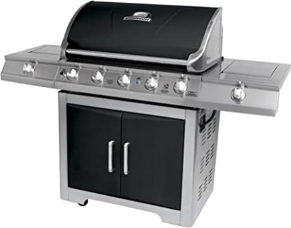 5 Burner Propane Gas Grill With