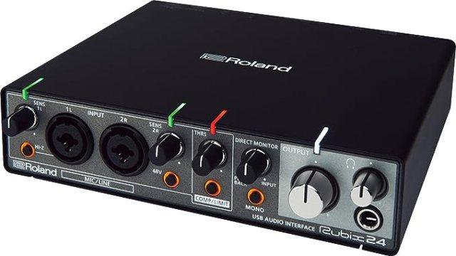 Amazon | ローランド USBオーディオ・インターフェース Rubix24 | オーディオインターフェイス | 楽器