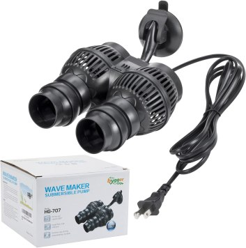 Hygger Submersible best Aquarium Powerhead 2000GPH Fish Tank Wavemaker