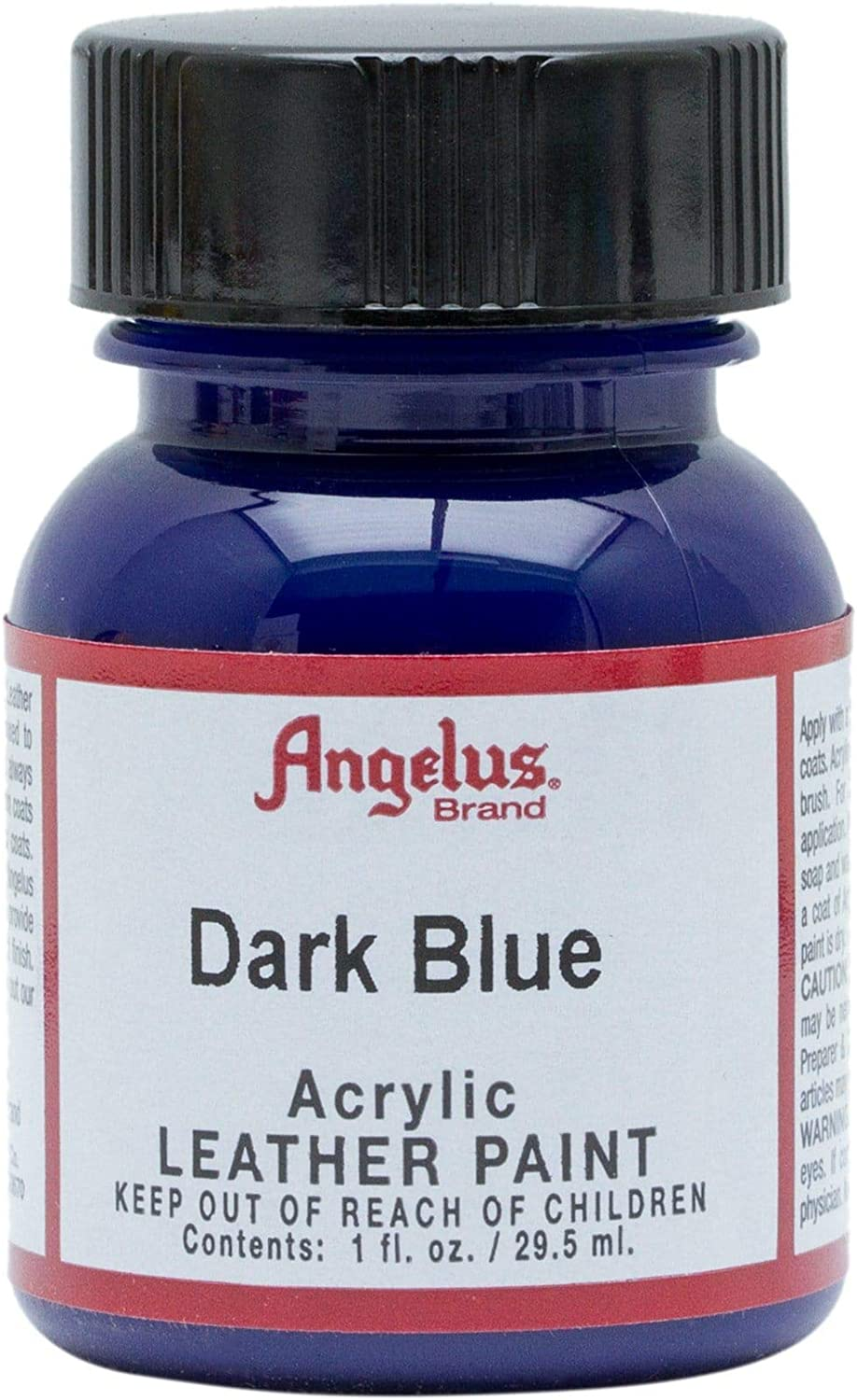 Amazon Com Angelus Leather Paint 1 Oz Dark Blue