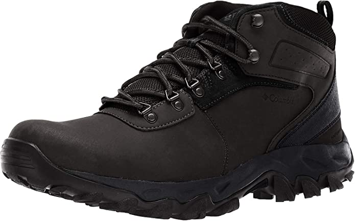 Columbia Men's Newton Ridge Plus II Waterproof Hiking Boot-Wide, Black, 11 Regular US