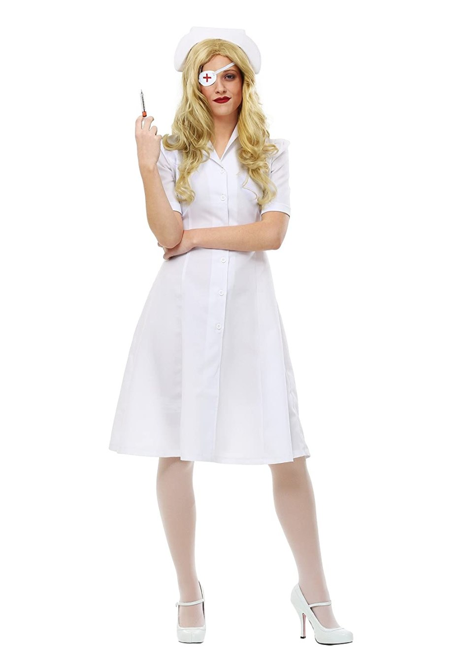 Fun Costumes womens Kill Bill Elle Driver Nurse Womens Costume