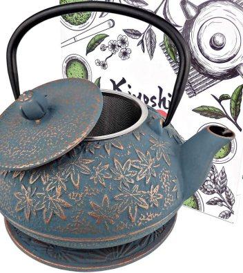 KIYOSHI Luxury Japanese Cast Iron Teapot