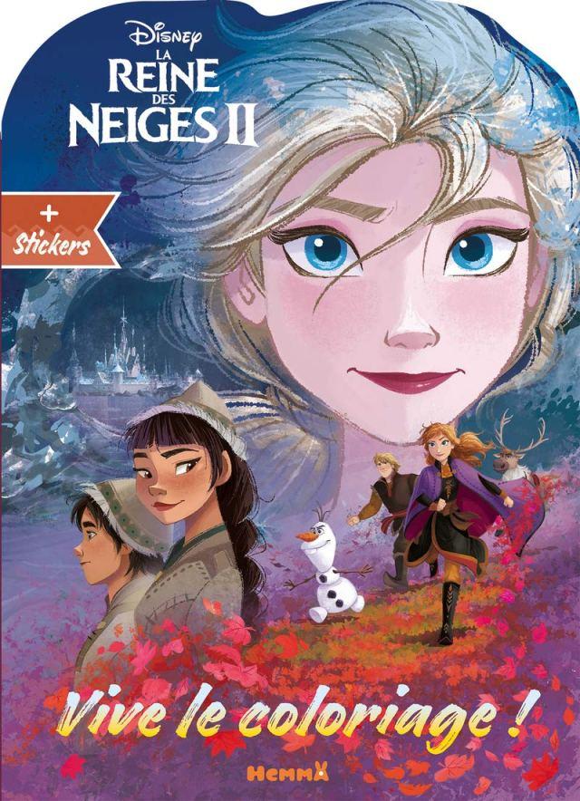 Disney La Reine des Neiges 26 - Vive le coloriage ! (Visage Elsa