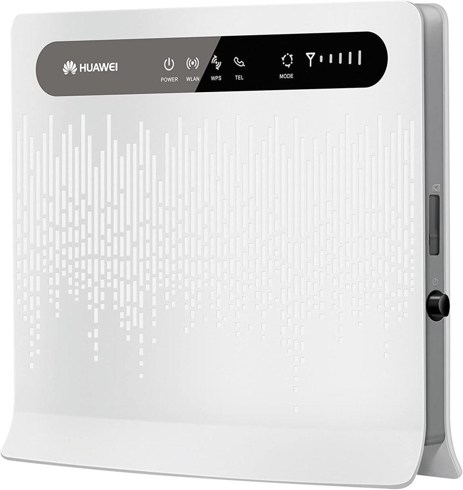Huawei B593 LTE/4G Wireless Router, B593