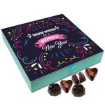 Chocholik New Year Chocolate Box – Accept My Warm Wishes for This New Year Chocolate Box – 9pc