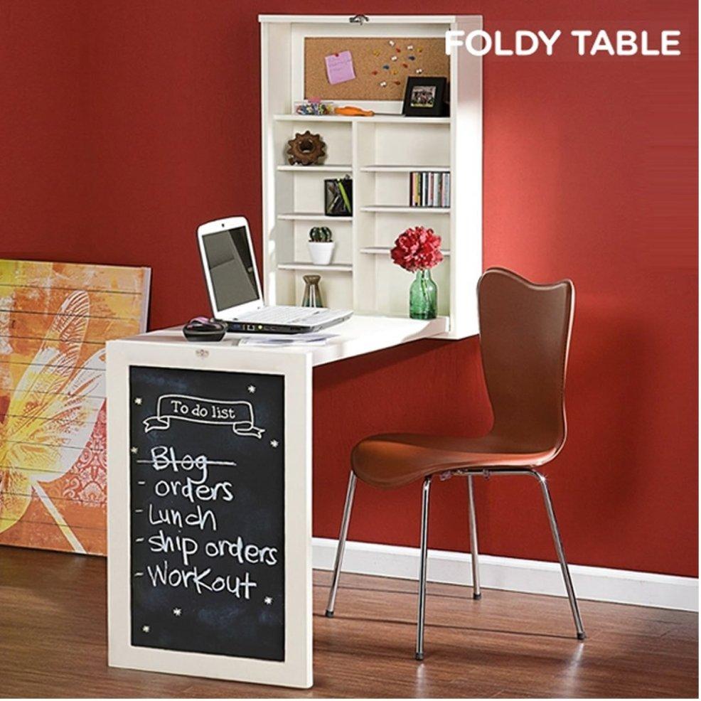 Foldee Table W Wandklapptisch