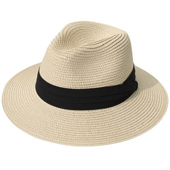 Bring a sun hat on your next tropical vacation
