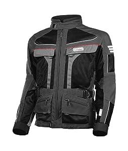 Olympia Moto Sports MJ222 Men's Dakar Dual Sport Mesh Tech Jacket
