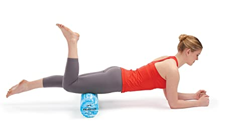 Woman Exercising On OPTP PRO Roller