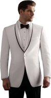 Fenghuavip Elegant White Groom Wedding Tuxedos Suits 2 Pieces At Amazon Men S Clothing Store - Wedding Tuxedo, Men S 2 Button Royal Blue Wedding Tuxedo Suit