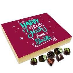 Chocholik New Year Chocolate Box – Happy New Year to You My Dear Bestie Chocolate Box – 20pc
