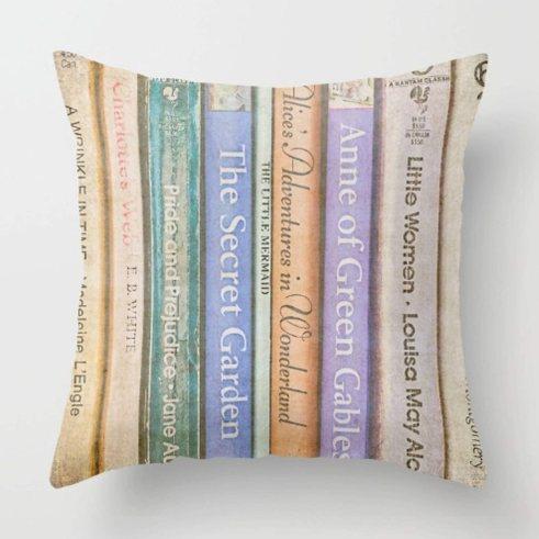 Literary Pillow