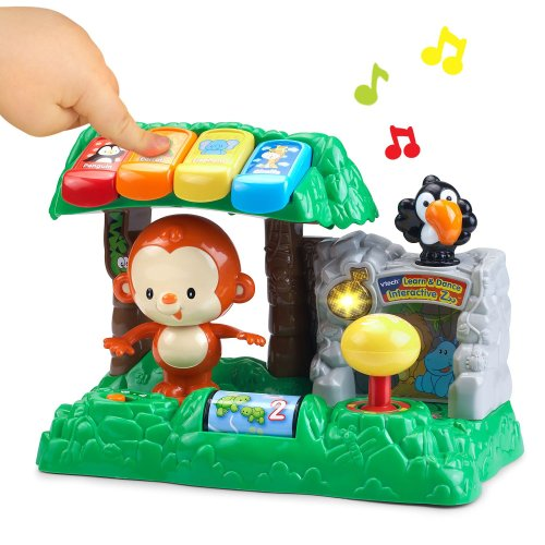 Image result for VTech Learn and Dance Interactive Zoo amazon