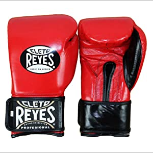 Best Boxing Gloves for Muay Thai - Cleto Reyes Hook & Loop Boxing Training Extra Padding Gloves