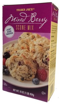 Image result for mixed berry scone trader joe's