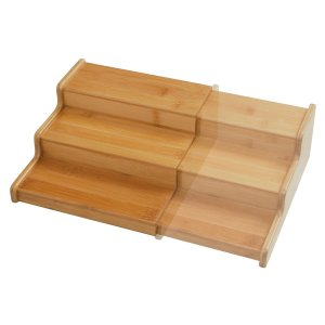 Step Shelf Cabinet Organizer