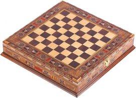 ajedrez egipcio de cobre