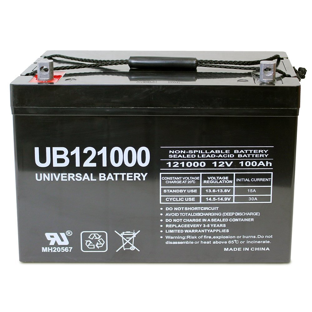 Universal UB121000-45978 12v 100AH