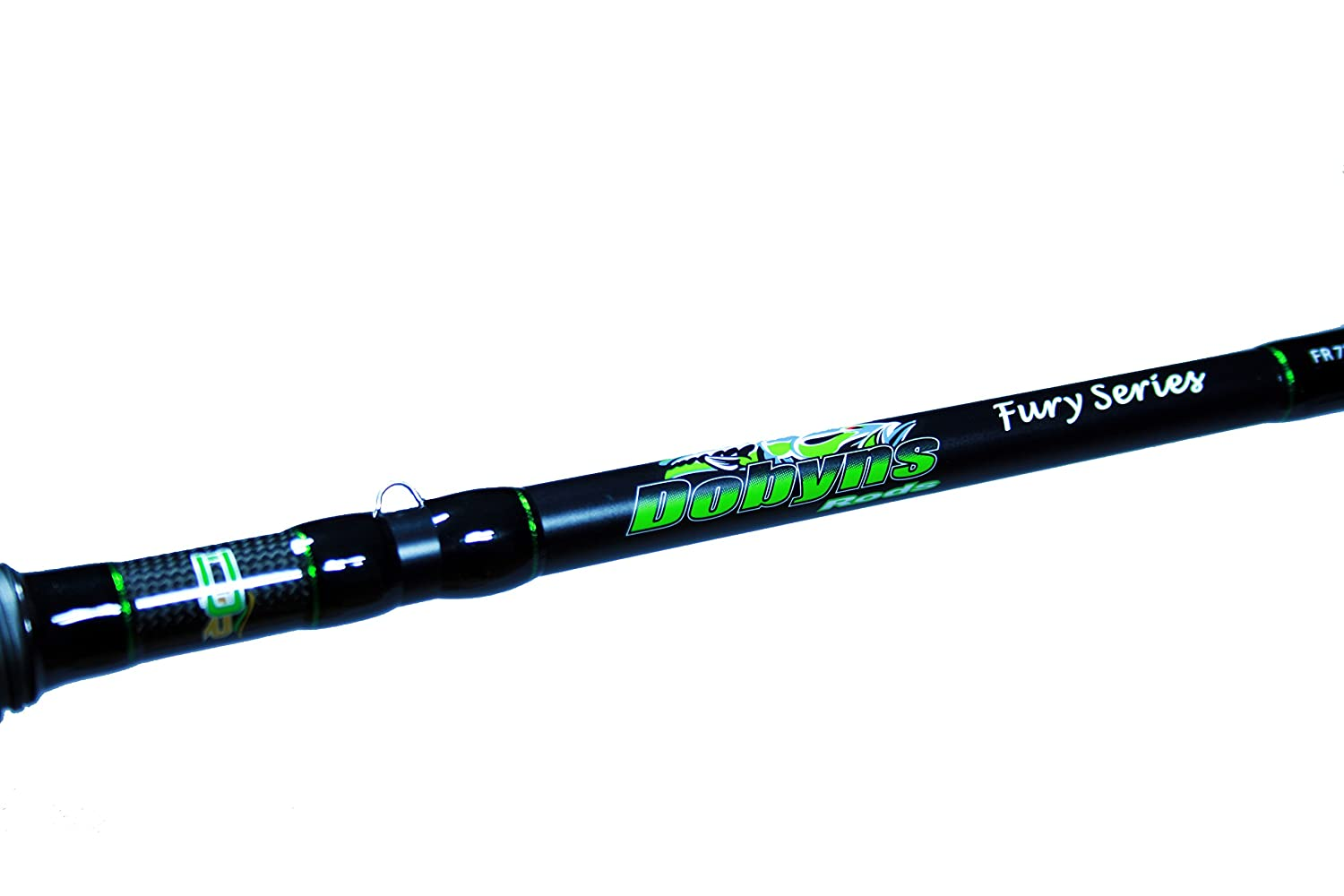 "Dobyns Rods Fury Series FR 705CB Medium/Heavy Power Mod-Fast Action Crankbait Rod, 7'0"", Black/Green"