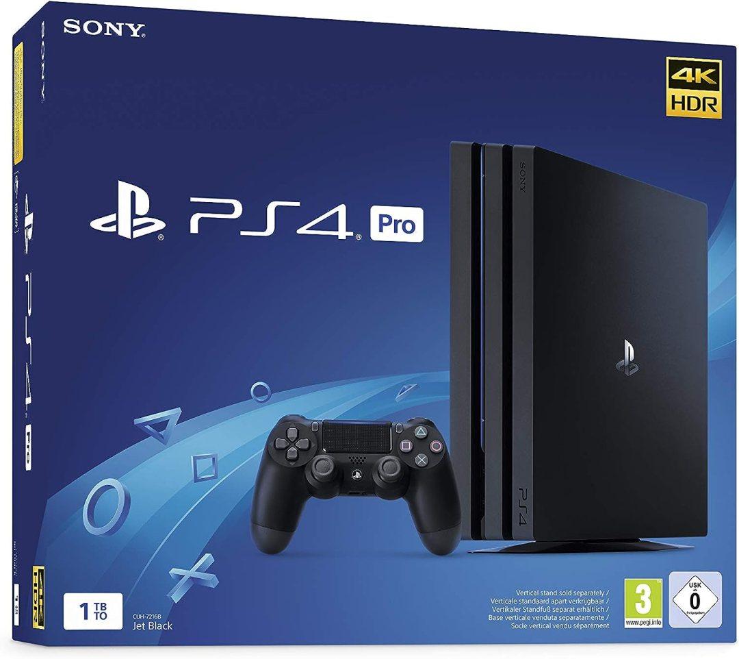 PS4 Pro 1 To G - noir