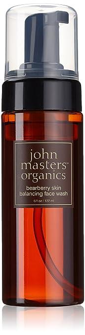 John Masters Organics Bearbery Skin Balancing Face Wash 6 oz