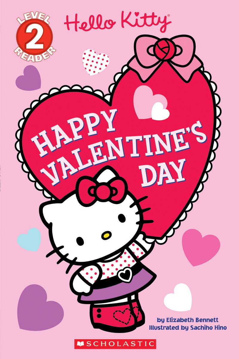 Happy Valentine S Day Hello Kitty Bennett Elizabeth Hino Sachiho 9781338113662 Amazon Com Books
