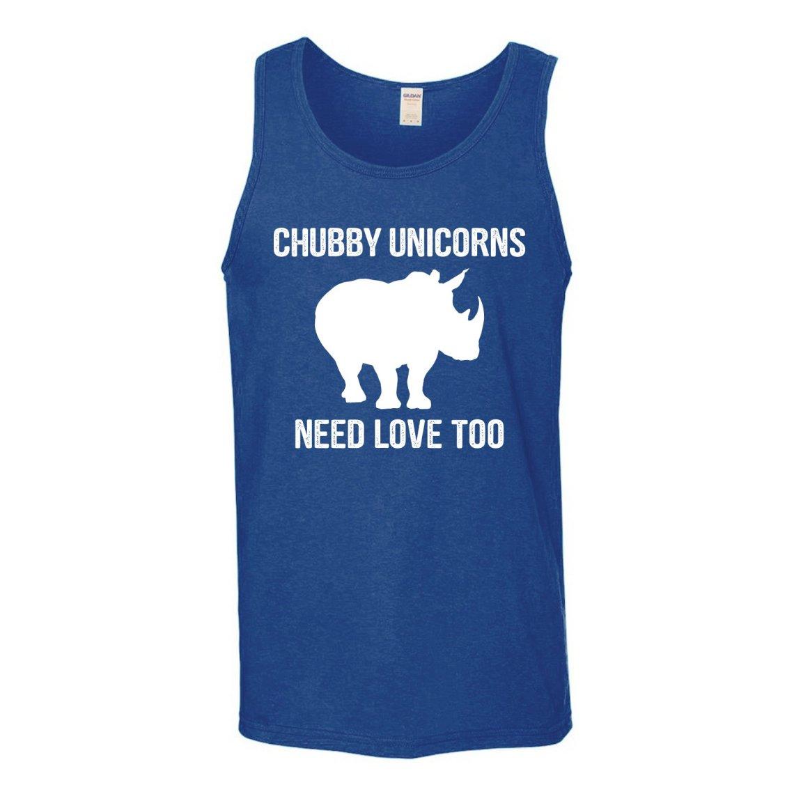 Download Chubby Unicorns Need Love Too Funny Rhino Gym Workout Tank ...