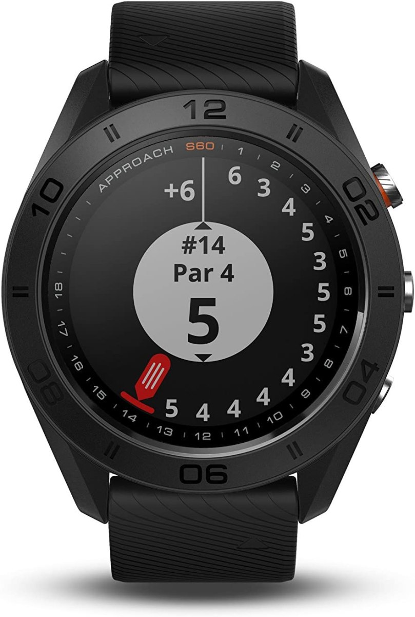 Garmin Approach S60, Premium GPS Golf Watch