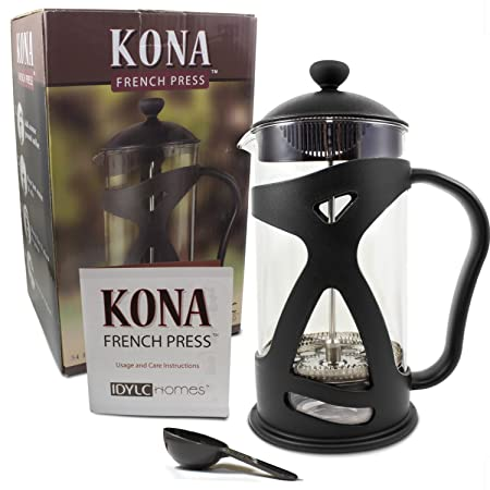 Idylc-Homes-KONA-French-Press-Coffee-Maker-Reviews