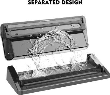 Entrige Vacuum Sealer Unique Separated Design