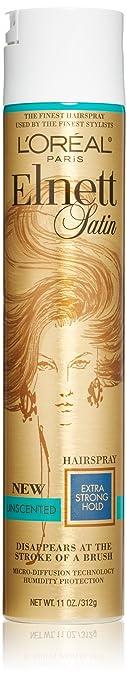 L'Oréal Paris Elnett Satin Extra Strong Hold Hairspray - Unscented, 11 oz.