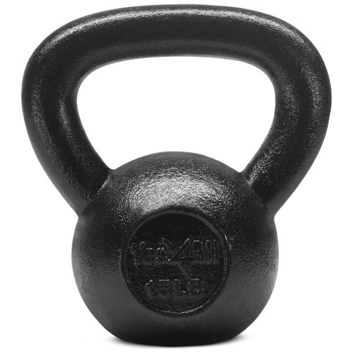 Solid Cast Iron Kettbell - yes4all