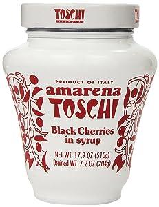 Amarena Toschi Italian Black Cherries