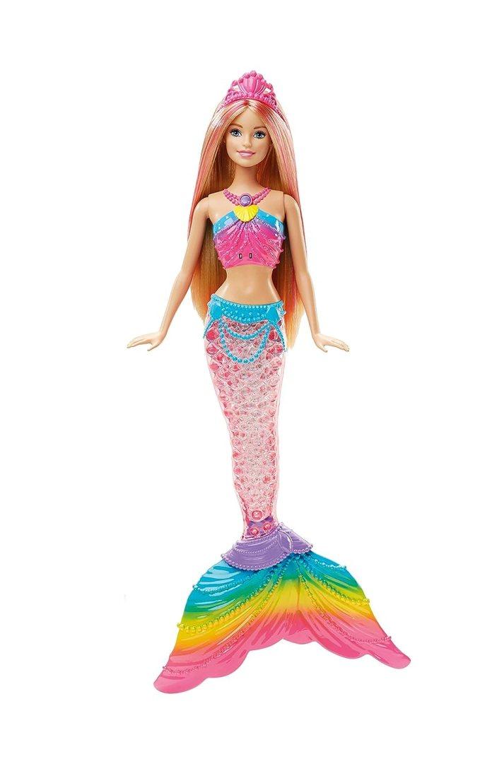 Barbie sirena arcoíris