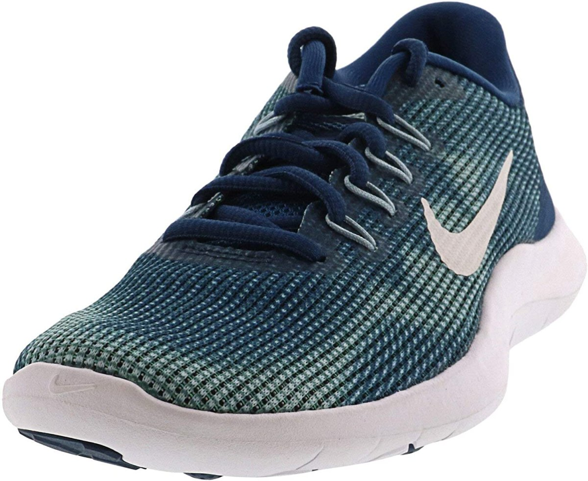 NIKE Women's Flex 2018 RN Blue Force/White-Ocean Bliss-Smokey Blue Running Shoe
