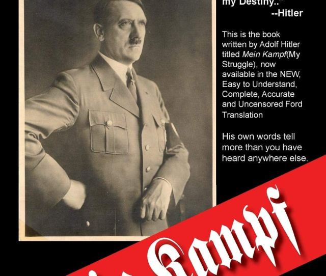 Mein Kampf The New Ford Translation Adolf Hitler Michael Ford