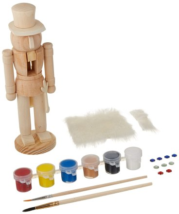 Nutcracker Soldier - Wood Paint Set
