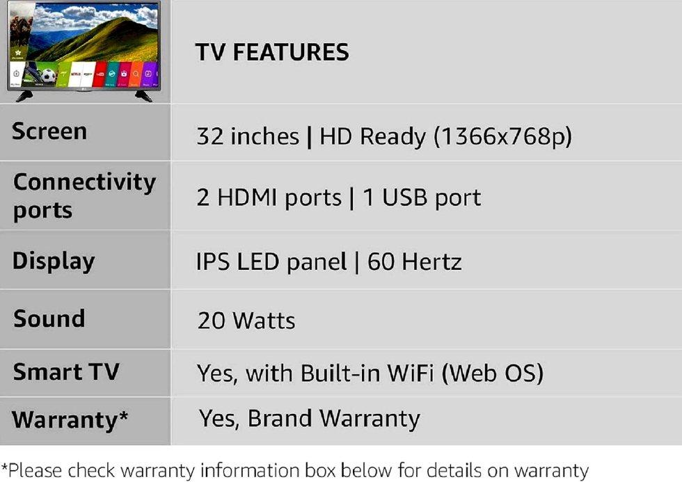 LG Smart Led TV Feature