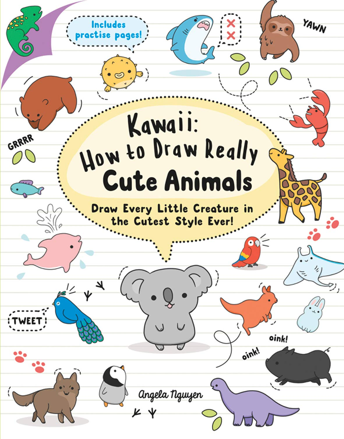 Kawaii How To Draw Really Cute Animals 9781782216599 Amazon Com Books