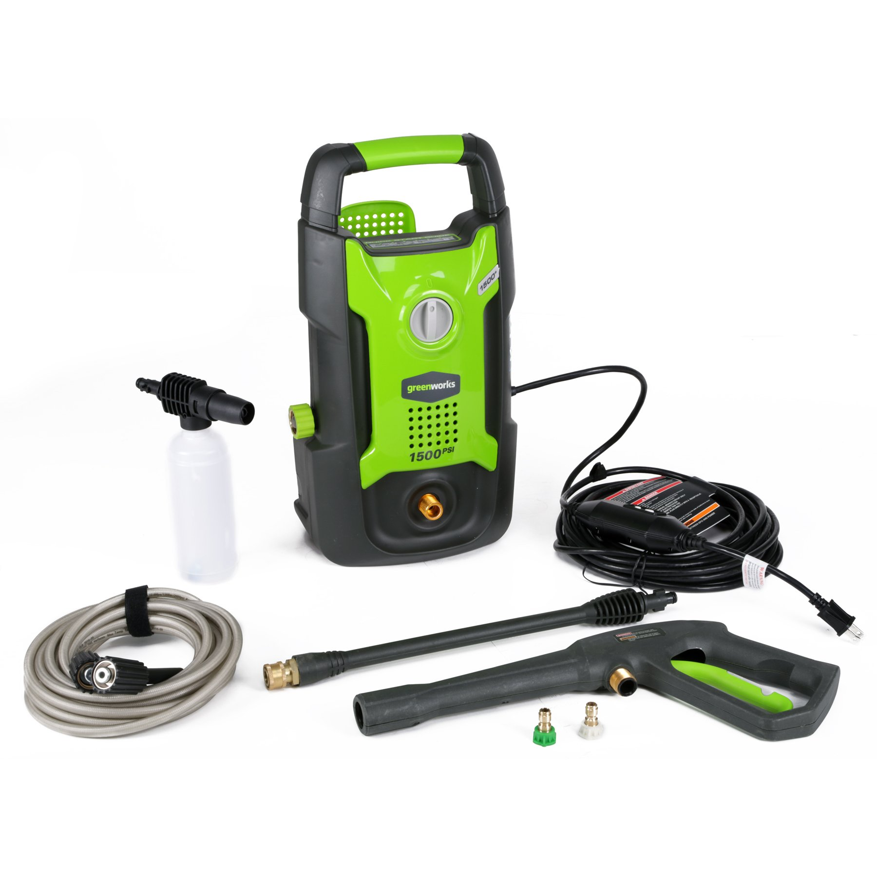 Best Green Works GPW1501 Electric Pressure Washers Reviews Buying Guide