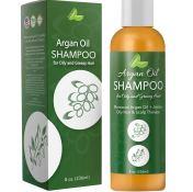 Argan Oil Shampoo for Oily Hair, Scalp and Greasy Hair