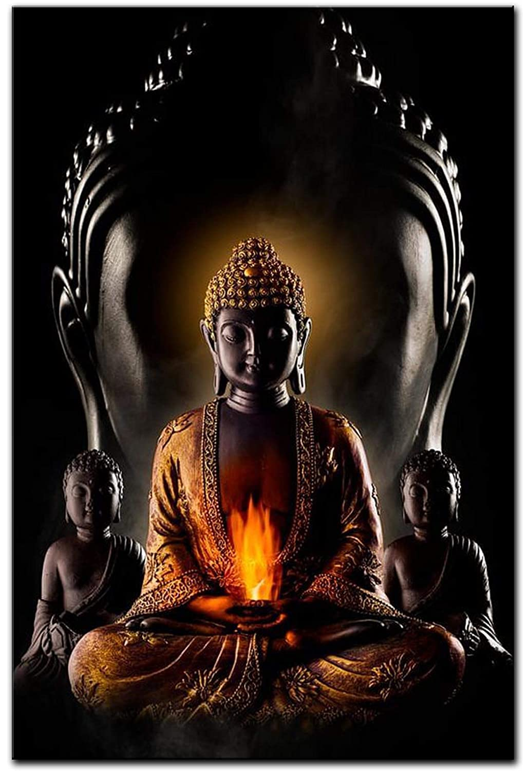 Buy Wallpics Buddha Wallpapers Glossy Photo Paper Poster For Living Room Bedroom Office Kids Room Hall 13x19 Online At Low Prices In India Amazon In
