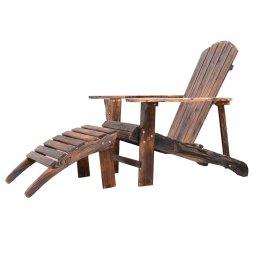 ottoman adirondack chair